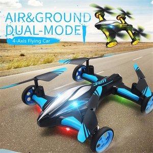 2.4G RC DRONE AIR-AIR AIR COCHE H23 Quadcopter con luz One-Llavero Retorno Control remoto Drones Modelo Helicopter Mejores Juguetes 201221