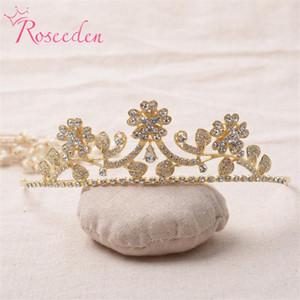 2021 Европа роскошные моды женщины свадебные аксессуары бурения металлический сплав Tiara Crown Mrs Gairswear Bridal Tiara повязки Re169