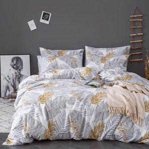 Urijk Printed Marble Bedding Set White Black Duvet Cover King Queen Size Quilt Cover Brief Bedclothes Comforter 3Pcs Sheet