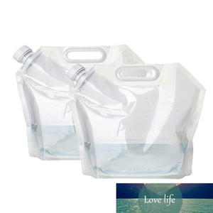 5 10 15L Portable Camping Water Bag Container Foldable Outdoor Hiking Picnic BBQ Soft Flask Sport Bottle Water Storage Pack