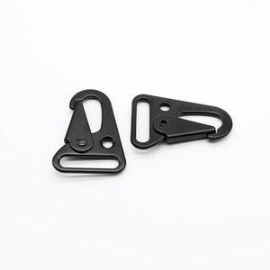 Sling Clips Nickle Bronze Buckles Spring Gate Snap Olecranon Hook Webbing Strap 25mm Free Shipping EWD2661