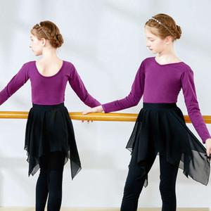 Suit per bambini autunno e inverno skirt di balletto da balletto figura ragazza danza danza formazione DRS