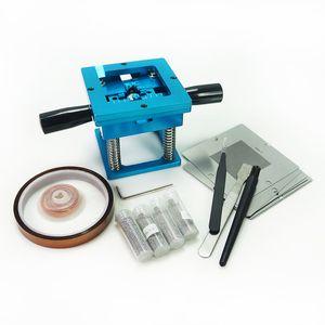 BGA 10 adet Evrensel Şablonlar 90mm Reballing Jig Kiti Lehim Topları ESD Cımbız Fırça BGA Rework Araçları