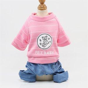 شعرية الكلب الملابس أربعة أرجل الأشرطة ملابس كاوبوي الأزياء شعبية habiliment حار بيع مع نمط مختلف 11 5GG J1