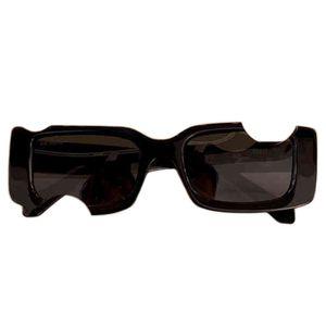 Sale Off Retro Strange OW Sunglasses For Men Fashion White Sunglasses For Women Sunglases Shades 40006 Sunglasses Steampunk White Glasses