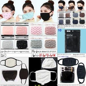 KFCY QLRCX Designermask yüz maskesi koruyucu maskeler ultraviyole geçirmez toz geçirmez sürme bisiklet pamuk baskı açık spor kadın ağız