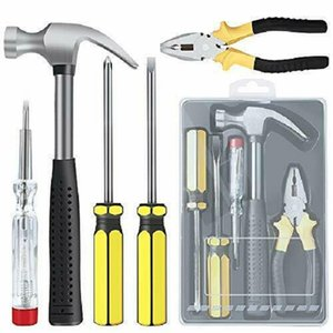 Durable Household Hand Tool Set - 5 Pieces General Repair DIY Kit