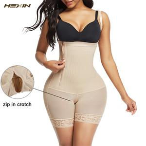 HEXIN Body shaper Modeling Shapewear Postpartum Slimming Underwear Recover Bodysuits Butt Lifter Corset Girdle Waist Trainer LJ200917