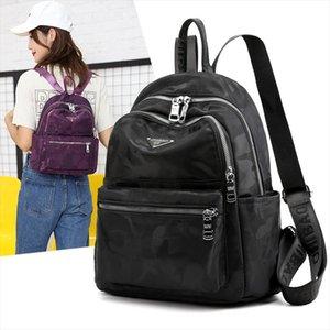 Vento Marea женщин Рюкзак 2020 Женские большие емкости плеча сумки красный рюкзак Повседневная водонепроницаемый мешок школы для подростков девушка