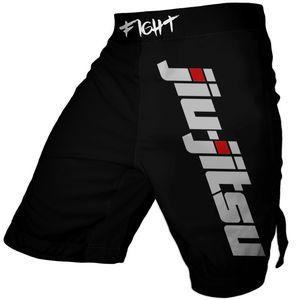 Jiu Jitsu Impressão Boxe Shorts Casual Sports Gym Shorts MMA BJJ Muay Thai Shorts Trunks Q1127