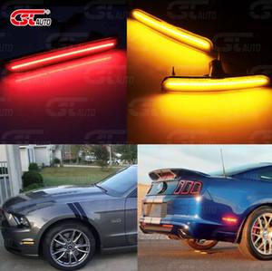 FORD LED Yan Marker Lambası 12 V (Ön-Sarı Lens-Sarı) 2010-2014 Ford Mustang
