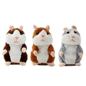 Talking Mouse Pet Plush Toy Learn To Speak Electric Record Hamster Educational Children Stuffed Toys Gift 16cmCHRI