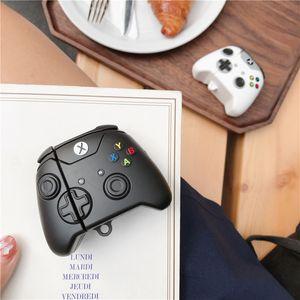 Per AirPod 2 Caso 3D gestire i casi di gioco auricolare senza fili della macchina del fumetto morbido silicone per il caso di Apple Airpods copertura sveglia Funda