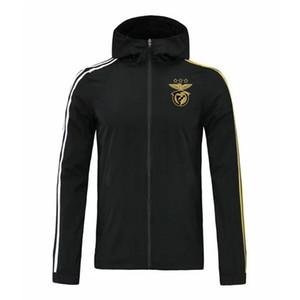 2020 2021 benfica ceket ceketler Running rüzgarlık eşofman futbol formaları Aktif rüzgarlık Kapşonlu futbol spor kış ceket hoodies