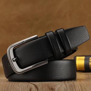 Belts PU leather belt Men Belt Women belts male ceinture Fashion man woman belts jeans classical belt strap black Needle buckle