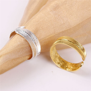 Napkin Rings Napkin Holders For Wedding Dinners Party Hotel Wedding Table Decoration Supplies Napkin Buckle 100pcs T1I3445