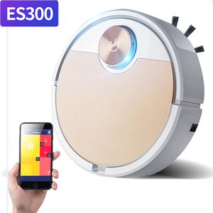 ES300 Robot Vacuum Cleaner Mobile Phone APP Remote Control HouseholdAutomatic Dust Removal and Sterilization Smart Sweeper