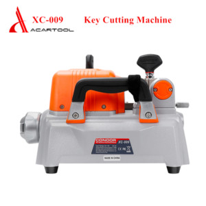 Portable Xhorse Condor XC-009 Key Cutting Machine Precision Four-sided Clamps Low Noise with Battery for Civil Commercial Key