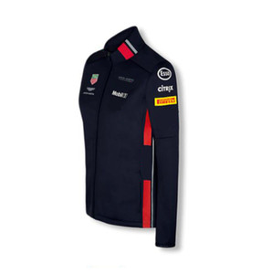NEW F1 Formula One racing hooded sweater team suit racing suit jacket jacket windproof and warm