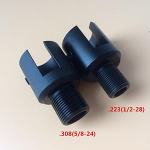 알루미늄 루거 1022 1 / 2-28 5 / 8-24 소염기 스레드 어댑터 0.223 0.308