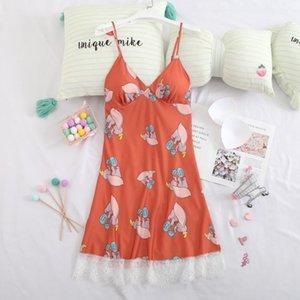 Smmoloa Nightgown Sleepwear mit Augen Mask1