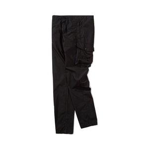 gonng Santo grife série macacões calças casuais Primavera e Outono marca de moda nova versão alta dos homens CP topstoney PIRATA EMPRESA konng