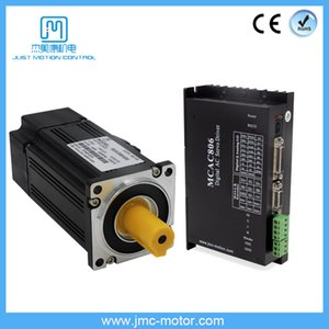 JMC Low Cost 60V 400W 3000rpm AC Servo Motor & Driver Kit for CNC Sew Machine MCAC806+60ASM400
