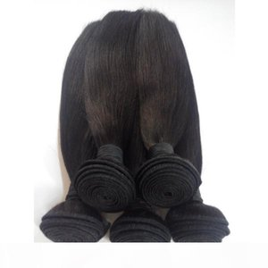 3 Bundles Brazilian Virgin Hair Extensions 100% Unprocessed Indian European Straight remy Human Hair Weaves Cheap Price Double Weft DHgate