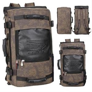 Sutuoop Brand Voyage élégant grande capacité sac à dos mâle sac à bandoulière à bandoulière avec sacs à dos pour hommes Sacs polyvalents fonctionnels 201119