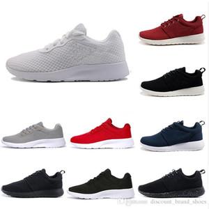Moda Tanjun 3 .0 Londra 1 .0 Koşu Koşu Ayakkabıları Erkekler Kadınlar Siyah Mavi Düşük Hafif Nefes Alabilir Olimpik Spor Sneakers Mens Traine