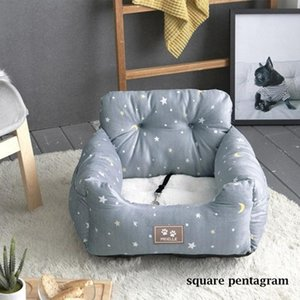 Dog Car Seats Bed for Small Medium Dogs Travel Front Back Seat Indoor Use Pet Car Carrier Bed Cover Removable
