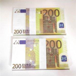 Finge Movie Money Prop Euro 10 20 50 Papel Copy Banknote Prop Money Euro 100pcs Pack