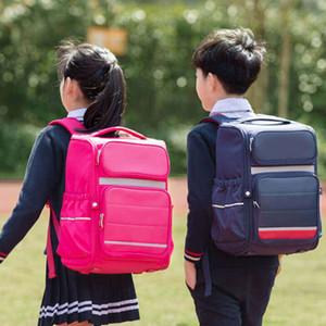 XiaomiYoupin يانغ حقيبة مدرسية 25L قدرة هائلة تصميم 3D لتلاميذ المدارس الابتدائية بنين والبنات 3007085A2
