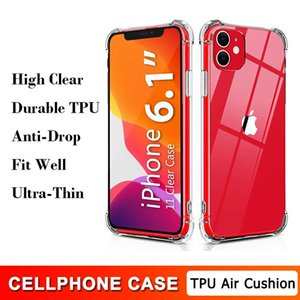 Durable TPU Ultra Thin Clear Protective Phone Case for iPhone 12 Mini 11 Pro Max X XS XR 7 8 6 6S Plus Anti-drop Transparent Air Cushion