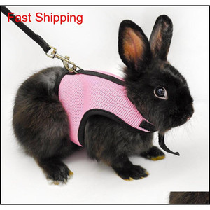 Small Pet Harness Leashes Soft Breathable Harness Leash Lead For Hamster Rabbit Guinea qyloHn sports2010