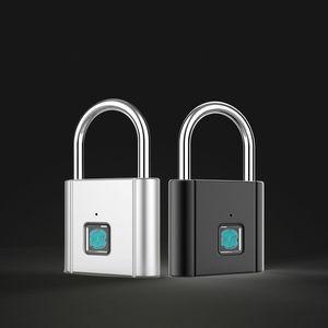 Nuova impronta digitale Blocco impronta digitale blocco Intelligente impermeabile IP65 Design antipolvere antifurto Anti-furto Acqua Proof Porta Lock lucchetto Bad in Goccia Shpping