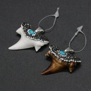 새로운 스타일 암소 뼈 펜던트 드릴 - 쥬얼리를위한 절묘한 매력 DIY 목걸이 팔찌 액세서리 만들기