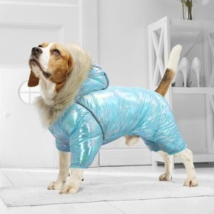 Roupas quentes do cão de inverno de inverno Pet Pet Pet Cachorrinho Casaco Roupa de Traje de Cão Impermeável para Pequenos Cães Grandes Médios Chihuahua