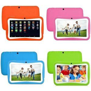 2021 Nuovo arrivo 4 GB 8GB giocattolo bambini bambini Android tablet rugged tablet 7inch schermo Android Apprendimento della fotocamera anteriore posteriore