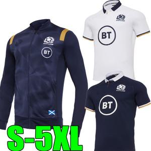 2020 2021 jersey de rugby Ecosse 20 21 maison loin Taille S-5XL Survêtement veste bleue écossaise Chemise Maillot T-shirt Maglia