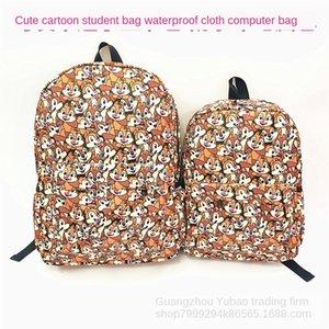 Новый мультфильм Chichititi Белка Бурундук Schoolbag водонепроницаемой ткани Рюкзак для родителей и детей