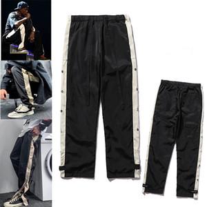 2021 Mens joggeurs Pantalon décontracté Fitness Hommes Sportswear Tracksuit Bottoms Skinny Pantalons de survêtement Pantalons Noir Gyms Pantalons de piste Jogger