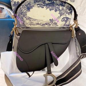 2021 New Design handbag Bag Genuine leather handbag with letters shoulder bag high quality genuine leather Saddle bag saddle Shoulder handba