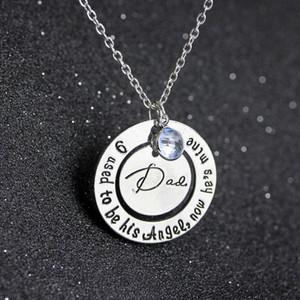 Oldukça Anne Baba kolye Anneler Günü kolye güzel takı hediye Çember kolye kolye
