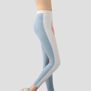 Nuevo Pantalones de yoga Ejercicio Ejercicio Ejecutar Pantalones Fitness Fitness Mujeres Show Fin Thin Hip Levantamiento Alto Cintura Elástica Fitness Ropa Correr