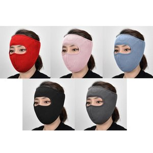 Winter Warm Sports Face Cover Washable Neck Mask Sun Dust Wind Proof Ear Loops PXPF