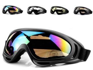 X400 Gafas Eyewear CS A prueba de viento Vidrios Deportes Vidrio Senderismo Gafas de sol Ski Reflective Ciclismo Motocicleta A prueba de explosiones Sunglass Gla Nvow