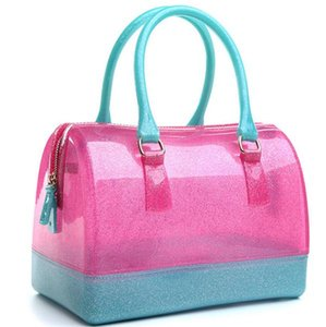 Summer Bag 2020 New Fashion Transparent Jelly Handbag Pillow Bag Multiple Colors