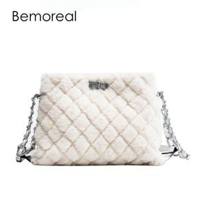 Les femmes de sacs Bemoreal marques célèbres sacs crossbody pour les femmes embrayages sac à bandoulière VELOUR sac de messager de la fausse fourrure de la mode