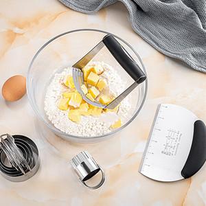 Mélangeur en acier inoxydable Blender Farine Poudre Cream Mélangeur Machine Mody Cuisine Whisk Tool Cuisson Pâtisserie Mélangeur Outils VTKY2266